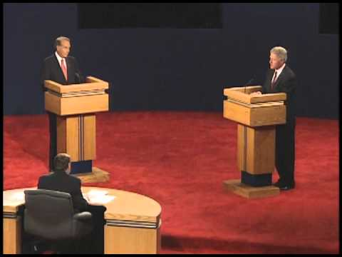 1996 Presidential Debate in Hartford, CT (1st 1996 debate)
