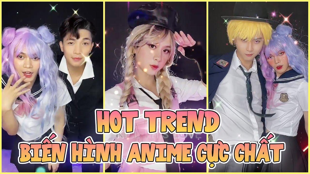 Biến Hình Anime Cực Chất | Tik Tok Biến Hình #135 | Hot Trend Tik Tok Cường Jin, Amax, Minh Hưng