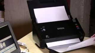 Epson WorkForce DS-560 Document Scanner Review - Compared to Fujitsu Scansnap ix500