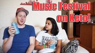 Party on Keto: Music Festival Weekend