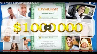 Listening to English Whole World $10 000 monthly - it