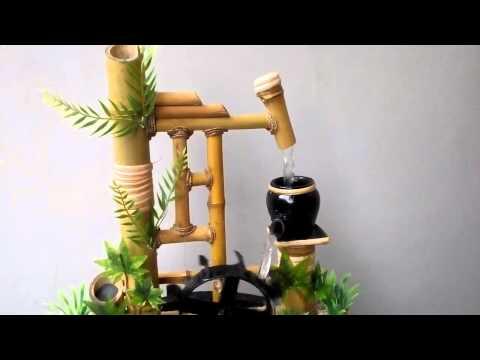 Miniatur Air Mancur Bambu Cendani - Cagunan