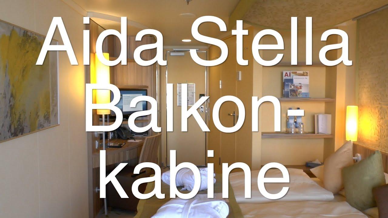 AIDAstella: Balkonkabine 8250 - YouTube