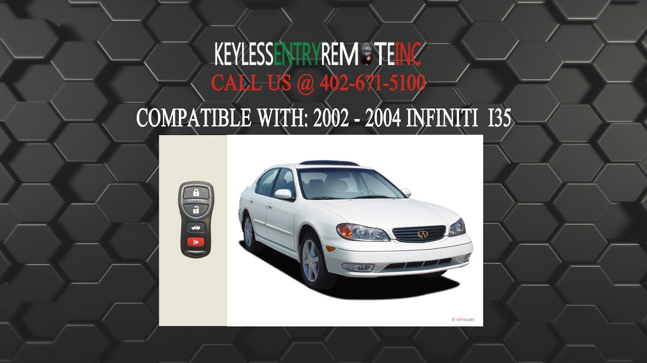 How to replace infiniti i35 key fob battery 2002 2004 youtube how to replace infiniti i35 key fob battery 2002 2004 vanachro Images
