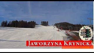 Jaworzyna Krynicka 2014 16 Luty Action Cam