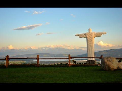 Socha Ježiša Krista - vrch Grapa Klin