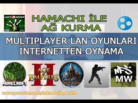Hamachi ile online oyun ağı kurma. Multiplayer LAN oyunları internetten oynama.