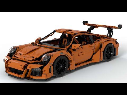 LEGO PORSCHE 911 GT3 RS 42056 LDD