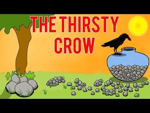 The Thirsty Crow Story In Hindi