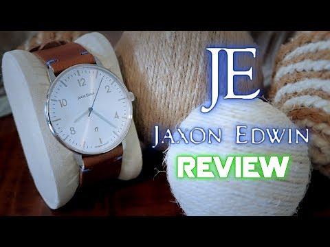 JAXON EDWIN Men's Watch Review - A Minimalistic Touch Of Class