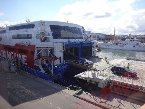 Viking Line : ride on Viking FSTR/HSC Express from Helsinki to Tallinn (May 11, 2017)