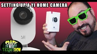 Setting up a YI 1080p Home Camera and adding Alexa commands