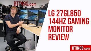 LG 27GL850 144Hz Gaming Monitor Review - RTINGS.com