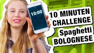 10 Minuten Challenge! Spaghetti Bolognese