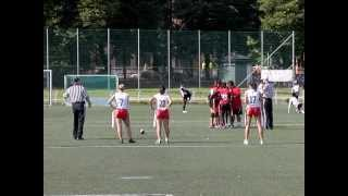 IFAF World Cup Flag Football - Mexico Vs Panama - second quarter