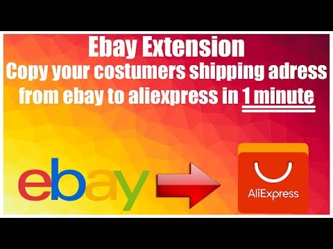 Ebay Dropshipping Order From Aliexpress