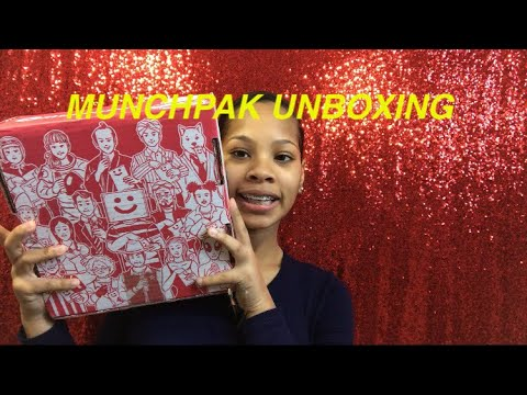 THE COOLEST  IVE EVER DONE! MUNCHPAK UNBOXING