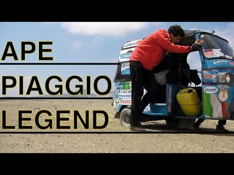APE PIAGGIO - A LEGEND IN THE WORLD by Taurinorum Team