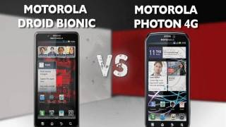 Motorola Droid Bionic vs. Motorola Photon 4G - Prizefight