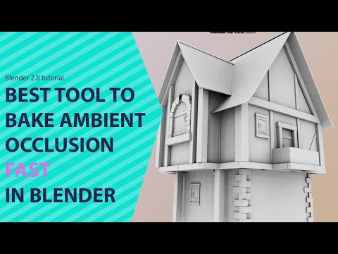 the best tool for baking ambient occlusion and normal maps in blender