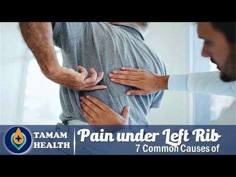 7 Common Causes Of Pain Under Left Rib Cage