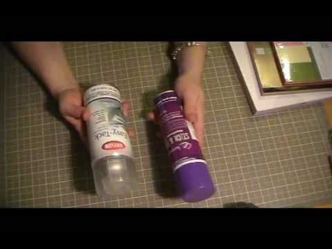 Product review crafters companion vs  krylon resticking your cricut mats