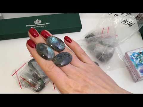 ✨СКОРО В ПРОДАЖЕ✨ Смотрим камни и серебряные украшения ручной работы💍👑💍
