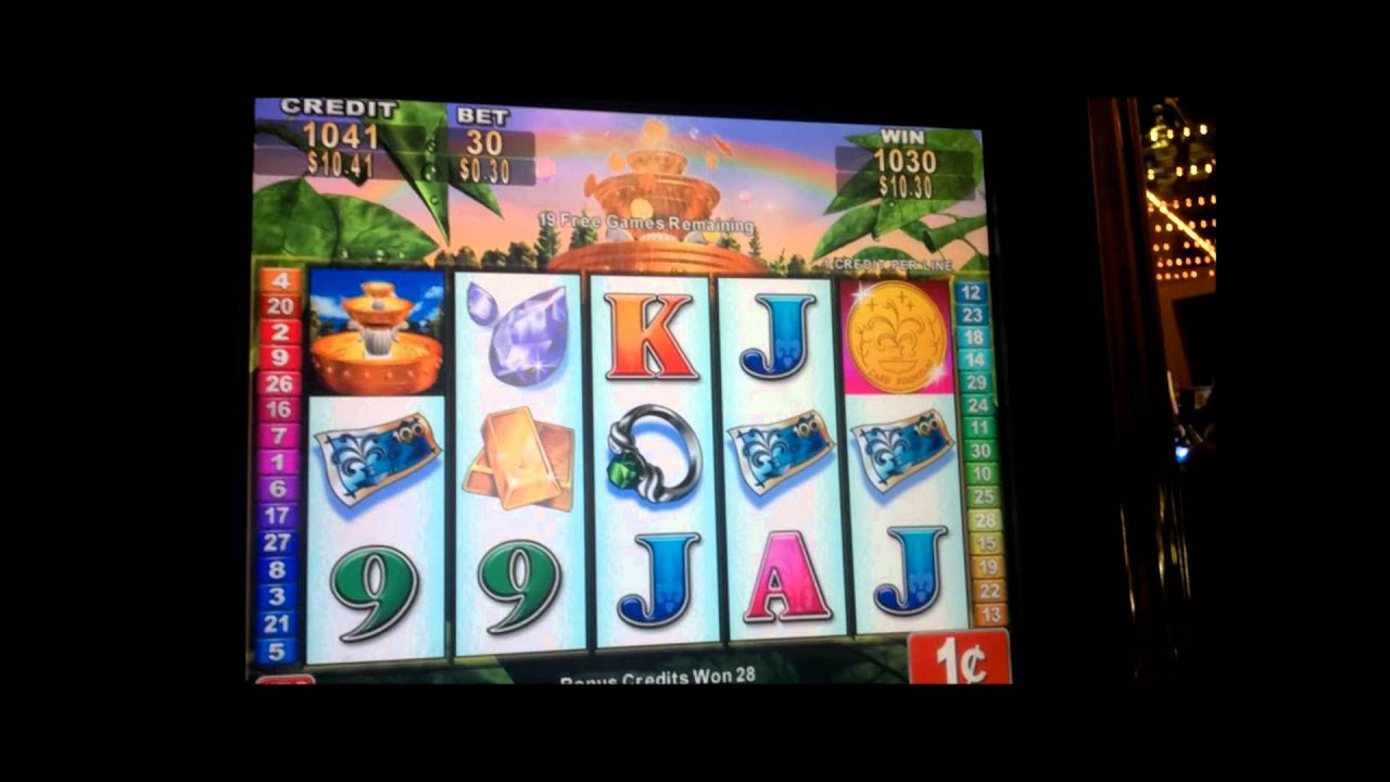 Lucky Fountain Slot Machine Download