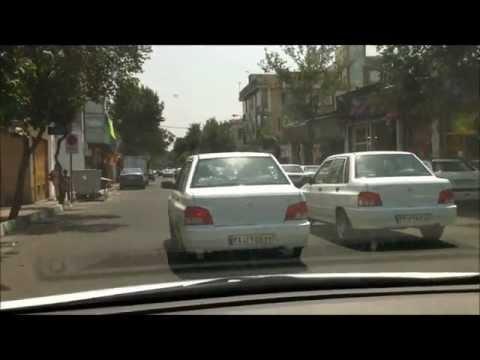 Driving in tehran NEW HD 1080