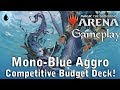 Magic Arena | Mono Blue Aggro [Competitive Budget Deck]