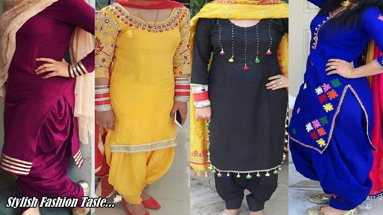 Punjabi Suit Design 2019 Patiala Salwar Suit 2019 Boutique Style Design Punjabi Suit Youtube,Baby Boy Designer Clothes Sale
