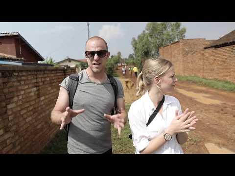 Rwanda - Jag och Clara Henry besöker biståndsprojekt
