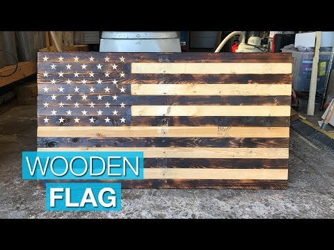 Making a Rustic American Flag from Pallet Wood
