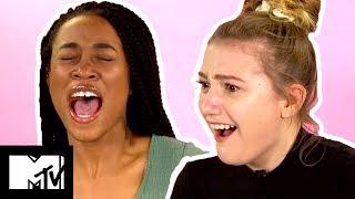 Girls Try Period Pain Simulator | MTV Style