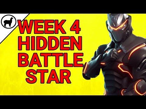 Week 4 Hidden Battlestar Bonus Tier Blockbuster Challenge | Fortnite Battle Royale