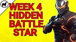 Week 4 Hidden Battlestar Bonus Tier Blockbuster Challenge   Fortnite Battle Royale