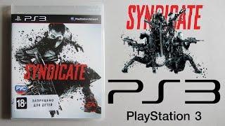 Syndicate (PS3) Распаковка