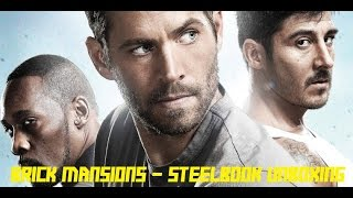 Brick Mansions - Steelbook - Müller Exklusiv - Unboxing (Deutsch/German)