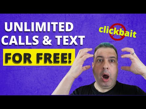 Get A FREE Phone Number And FREE Unlimited Calls And Text With TextNow - Not Clickbait!