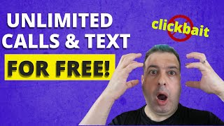 Get a FREE phone number and FREE Unlimited Calls and Text with TextNow - Not Clickbait! screenshot 5