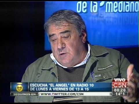 C5N - EL ANGEL DE LA MEDIANOCHE CON ROBERTO RIMOLDI FRAGA