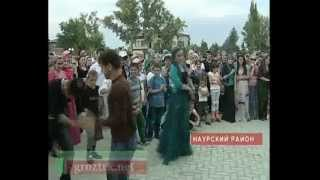 """В Науре отмечали праздник """"День мира"""" Чечня."""
