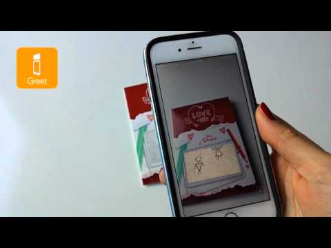 iGreet Augmented Reality Greeting Cards ~ Love Story