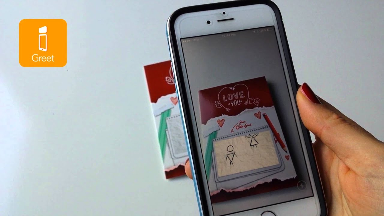 Igreet augmented reality greeting cards love story youtube m4hsunfo