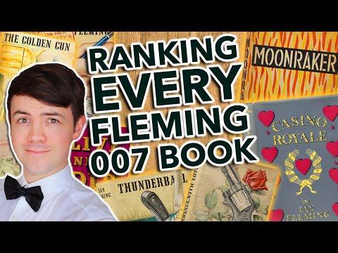 Ranking Every Ian Fleming Bond Novel - Worst To Best