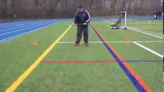 field hockey drills receiving the ball