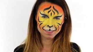 Quick & Easy Tiger Face Paint Tutorial | Snazaroo