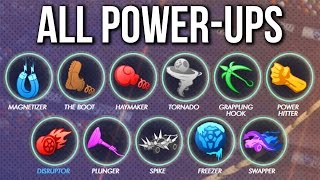 ALL POWER UPS - Rocket League Rumble