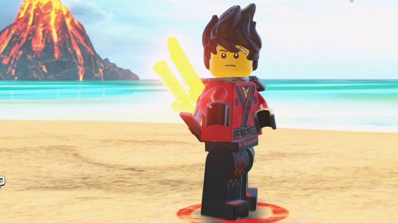 LEGO Ninjago Movie Video Game - Kai (Unmasked) - Open ...