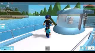 ROBLOX [SHARK BITE] HAZIZI KNE MAKI